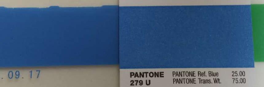 Pantone color 279 U