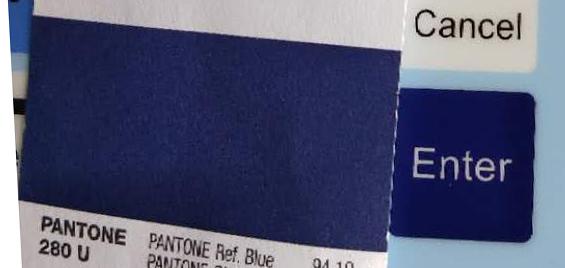PANTONE 280 U